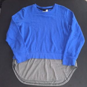 Adidas Blue And Mesh Sweater